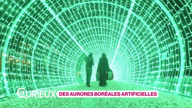 Des aurores boréales artificielles
