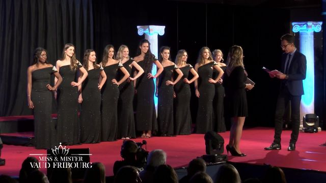 Miss & Mister Vaud Fribourg 2018