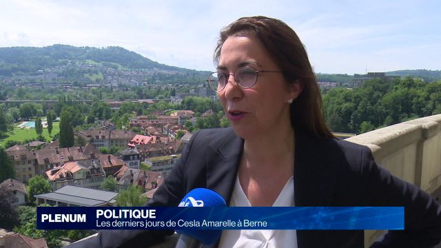 Cesla Amarelle vit sa dernière session à Berne