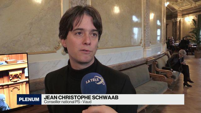 Jean Christophe Schwaab vit sa dernière session à Berne
