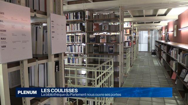 La bibliothèque du Parlement nous ouvre ses portes