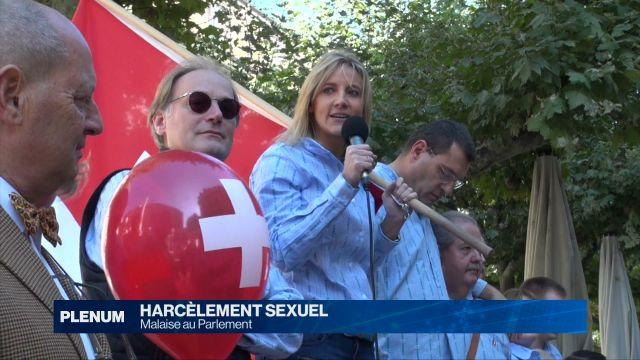 Harcèlement sexuel: malaise au Parlement