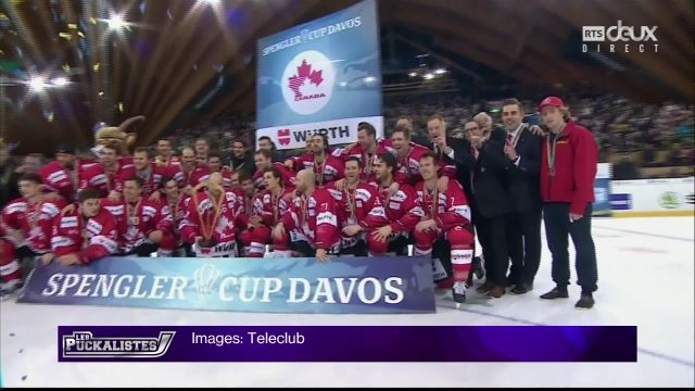 Le Team Canada remporta sa 14ème Coupe Spengler