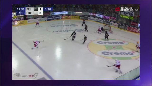 Malgré la défaite à Fribourg, Lausanne reste un solide 4ème