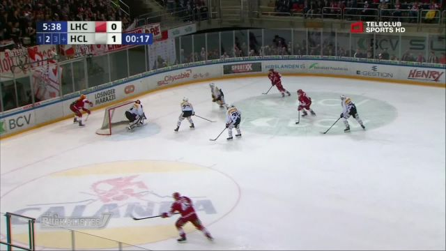 Le Lausanne Hockey Club affrontera Davos en play-off