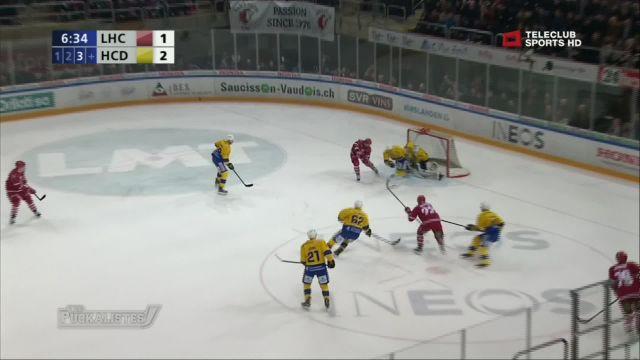 Lausanne sorti sans gloire en quarts de finale