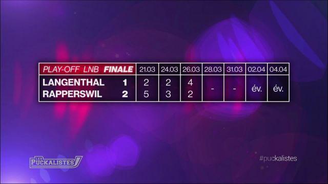 Finale de LNB - Langenthal revient à 1-2