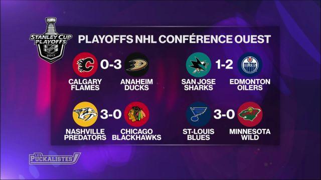 Les séries de NHL viennent de débuter