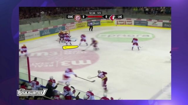 Le Lausanne Hockey Club s'incline à Genève