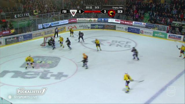 Fribourg Gottéron échoue de peu contre le CP Berne