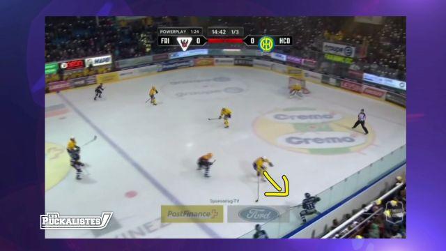 Fribourg Gottéron est 4ème du championnat à la pause
