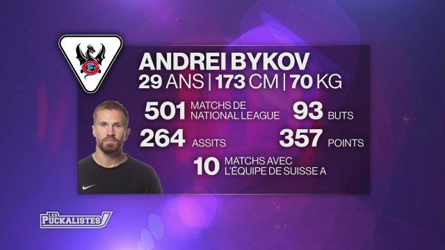 Le coup de coeur pour les 500 matchs d'Andrei Bykov