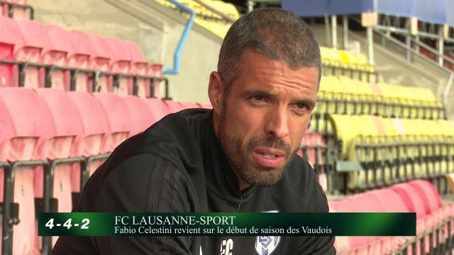Fabio Celestini revient sur le début de saison des Vaudois