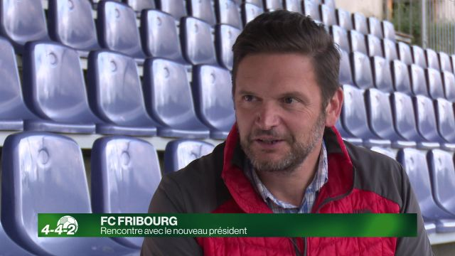 Rencontre avec le nouveau président du FC Fribourg