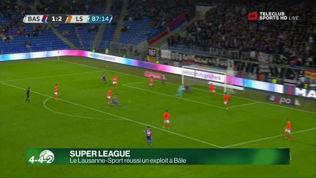 Le Lausanne-Sport réalise un exploit inimaginable
