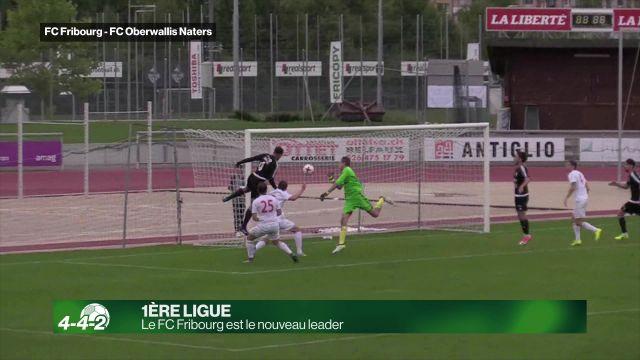 Le FC Fribourg prend la tête du groupe 1 de 1ère Ligue