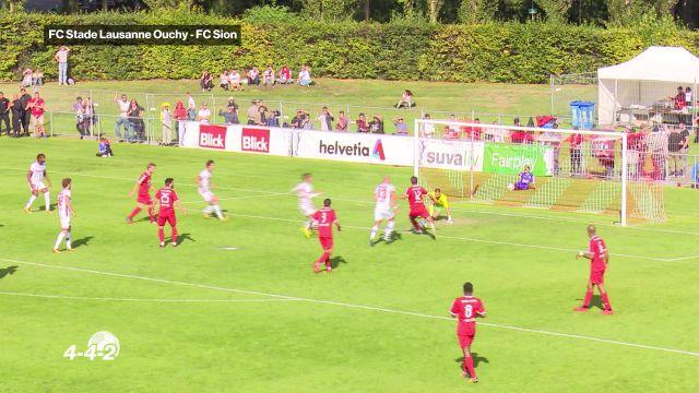 Stade Lausanne Ouchy crée l'exploit face à Sion