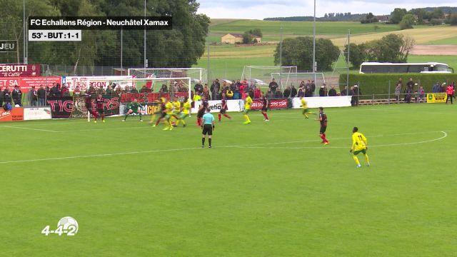 Echallens sort Xamax de la Coupe de Suisse