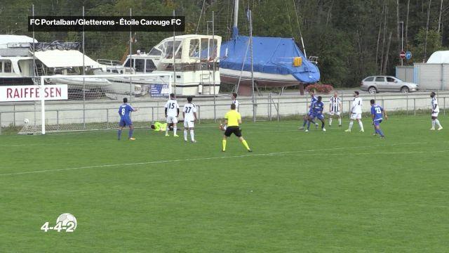 Retour sur le début de saison du FC Portalban/Gletterens