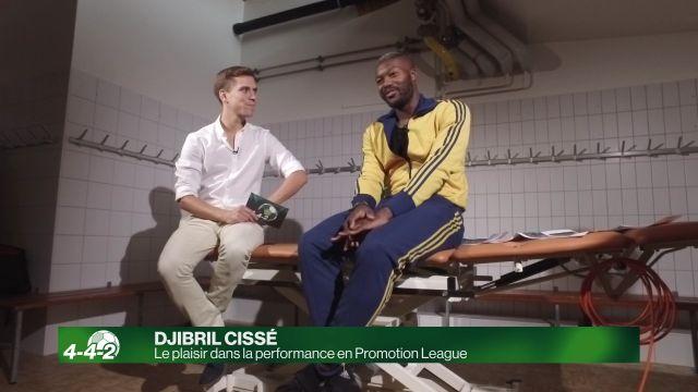 Djibril Cissé continue d'apprendre en Promotion League