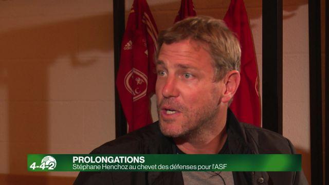 Stéphane Henchoz et l'ASF au coeur des défenses