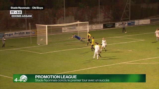Stade Nyonnais conclu le premier tour avec un succès