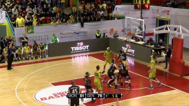 SBL CUP, demi-finale Monthey-Genève, la fin du match