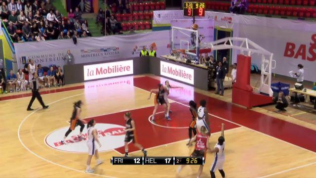 SBL CUP, finale féminine Elfic-Hélios, la première mi-temps