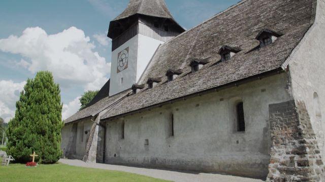 L'église de Rougemont