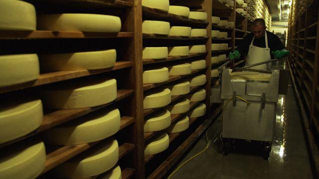 L'affinage du fromage d'alpage
