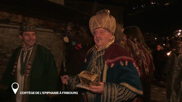 Cortège de l'Epiphanie à Fribourg