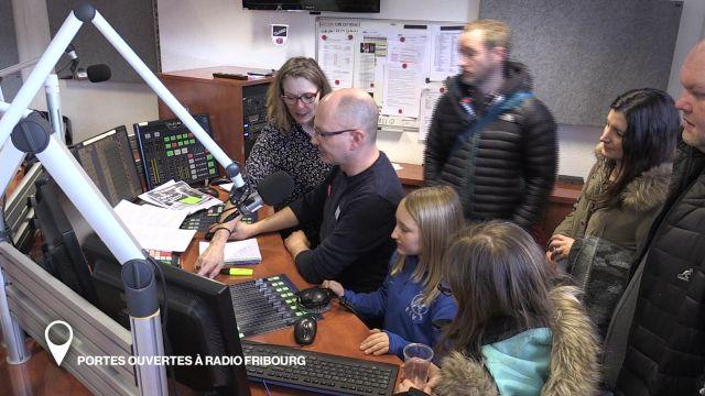 Portes ouvertes à Radio Fribourg