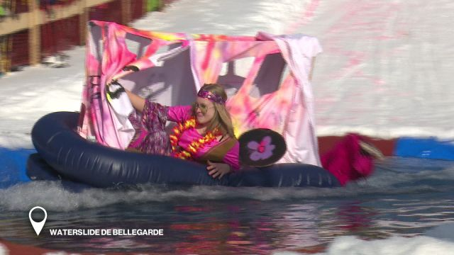 Waterslide de Bellegarde
