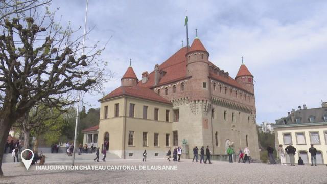 Inauguration du Château cantonal de Lausanne