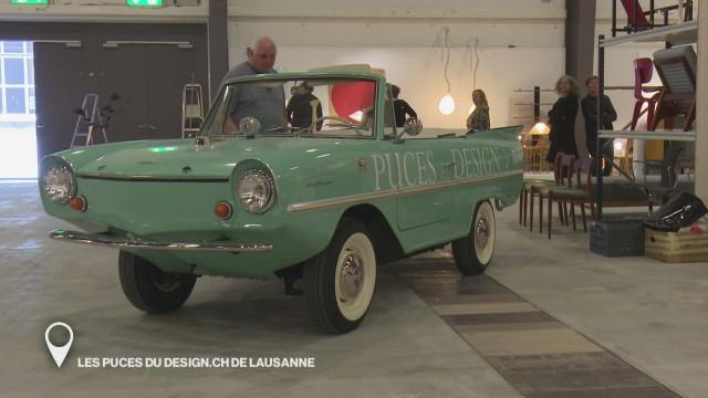 Les puces du design.ch de Lausanne