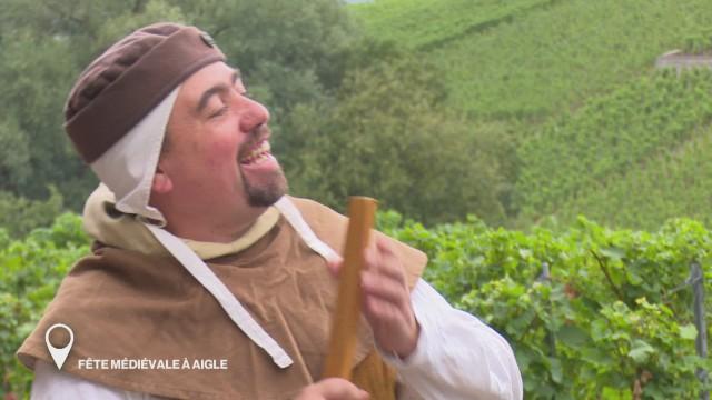 Fête médiévale à Aigle