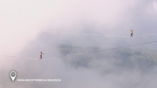 Highline Extreme au Moléson