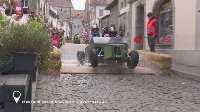 Course de caisses à savon d'Estavayer-le-Lac