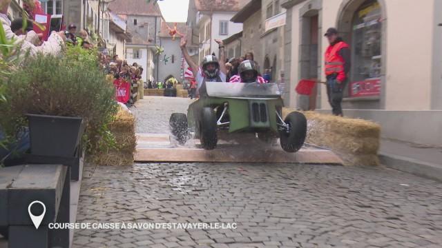 Course de caisses à savon d'Estavayer-le-Lac
