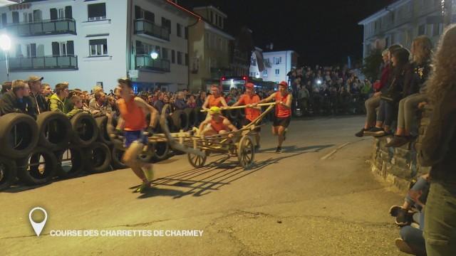 Course des charrettes de Charmey