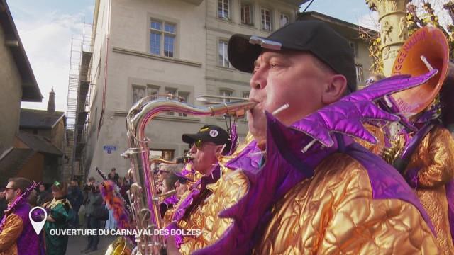 Ouverture du Carnaval des Bolzes