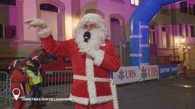 La Christmas Run de Lausanne