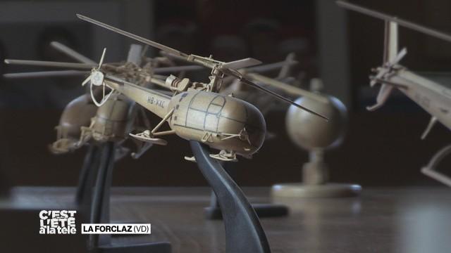 Découvrons un passionné d'hélicoptère en bois
