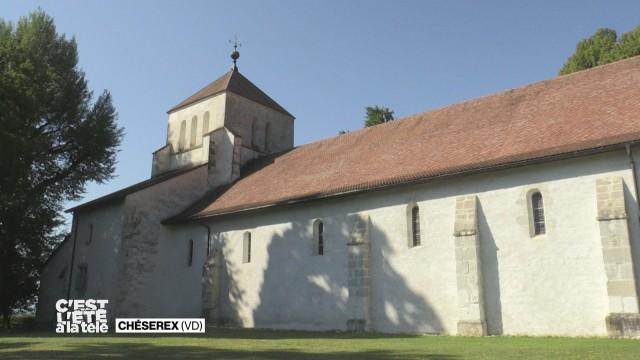 Stefane découvre l'Abbaye de Bonmont.