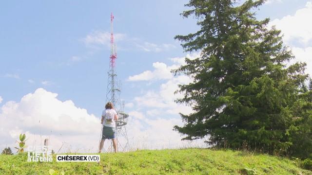 Jessica part à la recherche de l'antenne de la Barillette
