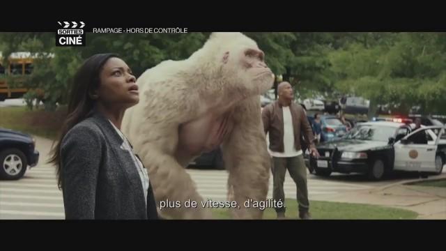 Rampage : Hors de contrôle, des muscles et des créatures XXL
