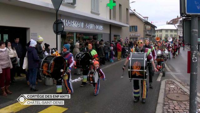 Cortège des enfants du Carnaval de Châtel-St-Denis
