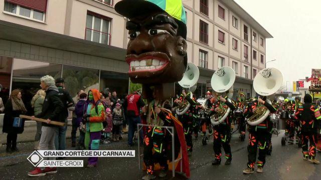 Les meilleurs moments du carnaval de Sainte-Croix