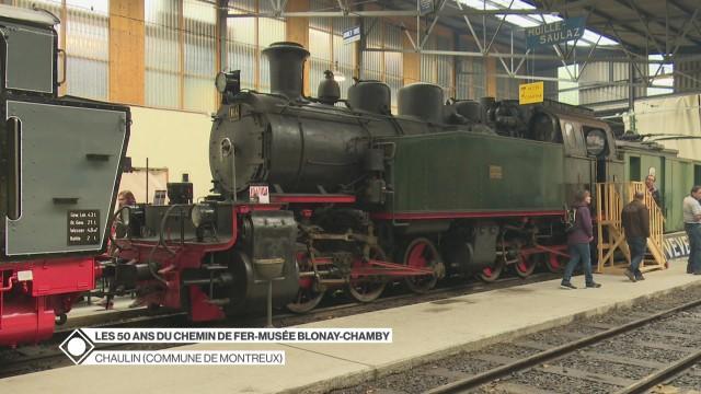 Le Chemin de fer-musée Blonay-Chamby fête ses 50 ans