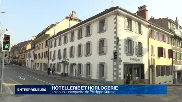 Hôtelier-horloger, la double casquette de Philippe Kuratle